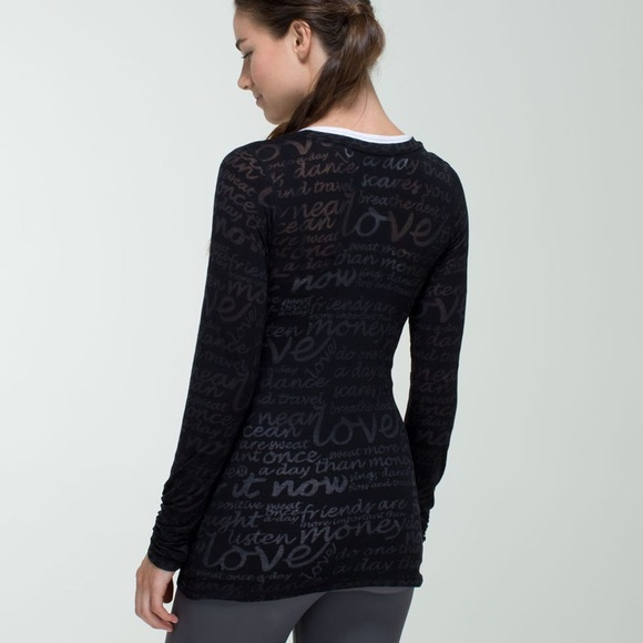 RARE | LULULEMON Daily Practice LS Special Edition